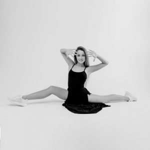 dançarina da modalidade dança e expressão