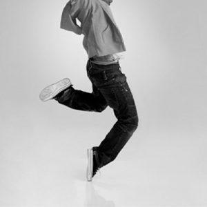dançarino da modalidade danças urbanas